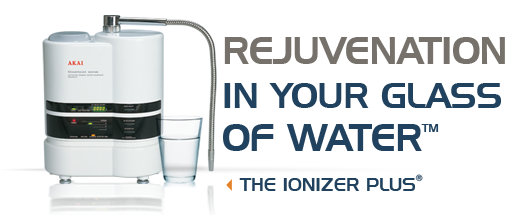 Ionizer Plus Water Filtration for Improved Health